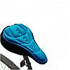 Чехол силиконовый Velos на велосипедное сиденье Синий 280*170мм