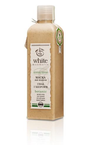Органическая маска для всех типов волос с проросшими зернами и маслом горчицы White Mandarin, 250 г