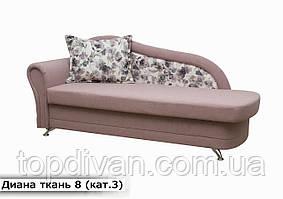 """Диван """"Діана"""" (тканина 8) Габарити: 2,10 х 0,85 Спальне місце: 1,85 х 0,80"""