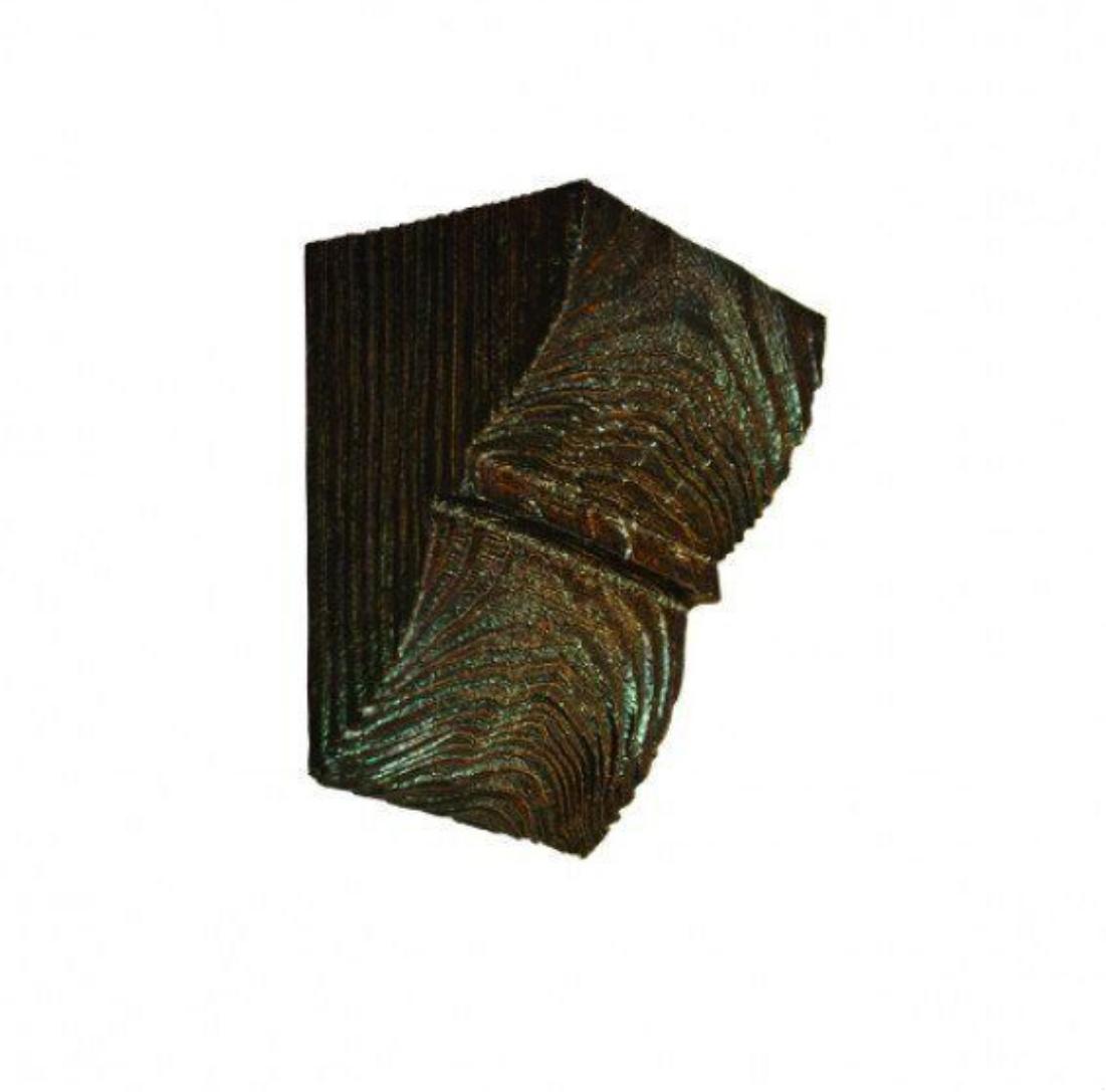 Консоль ED 016 classic темна 12х12 , лепний декор із поліуретану