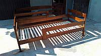 Ліжко дерев'яне з масиву вільхи спальне місце 200*90