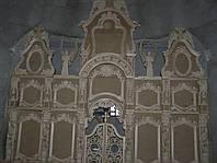 Иконостас в Барочном стиле с Ангелами