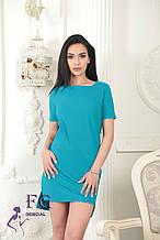 """Літнє плаття """"Невада""""  Розпродаж моделі 42, блакитний"""
