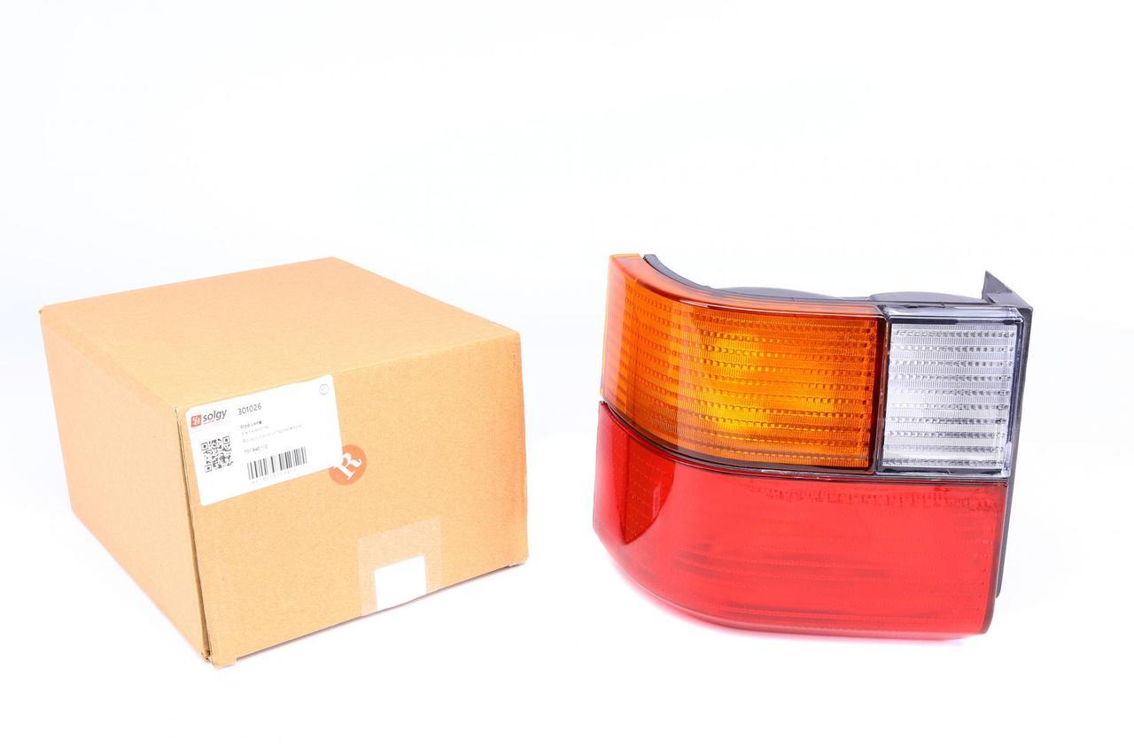Фонарь задний VW T4 90-96 (правый) (желтый поворот) (301026) SOLGY