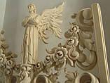 Иконостас Барочный подготовлен под  позолоту, фото 4