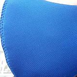 Захисна багаторазова маска Pitta mask/Пітта для захисту органів дихання. Синього кольору. Неопрен, 3-х шарова, фото 3