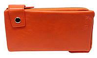 Кошелек женский оранжевый сделанный из искусственной кожи  wa-1078, фото 1