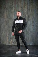 Мужской спортивный костюм черный / весна лето