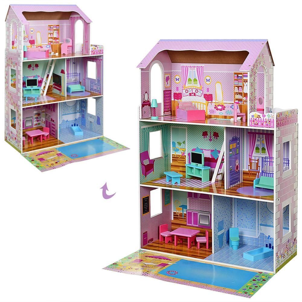 Деревянная игрушка Домик MD 2670