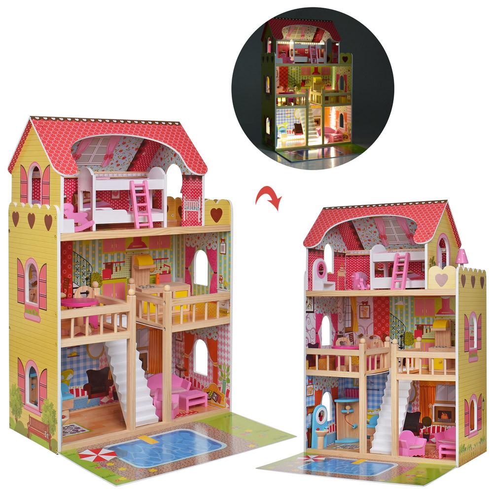 Деревянная игрушка Домик MD 2671