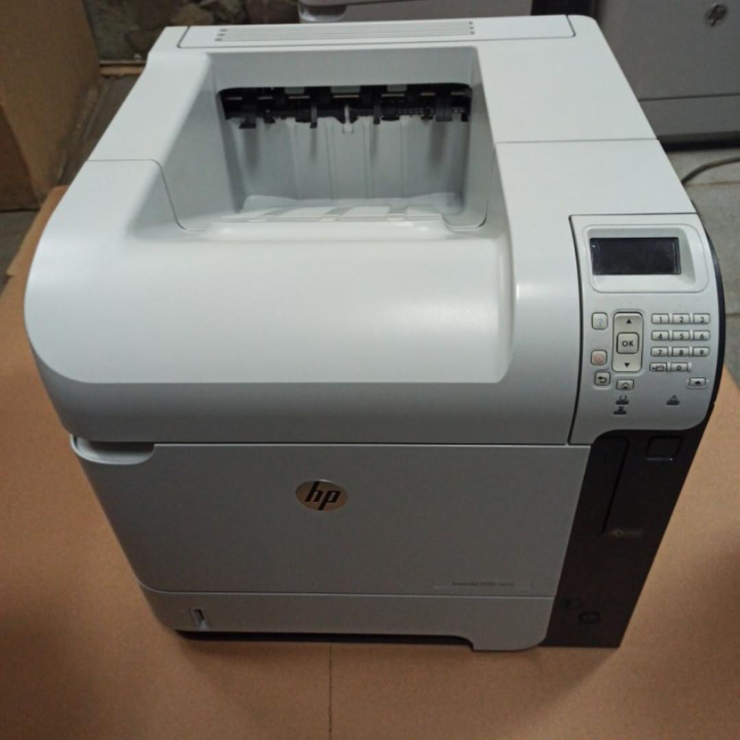 Принтер HP LaserJet 600 M602 DN (601 / 603) пробіг 147 тис. сторінок з Європи