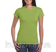 Жіноча футболка мяка Gildan