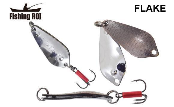 Блешня Fishing ROI Flake 18gr 005+001(шумова)