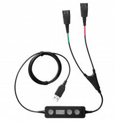 Шнур для обучения 2xQD - USB Jabra Link 265