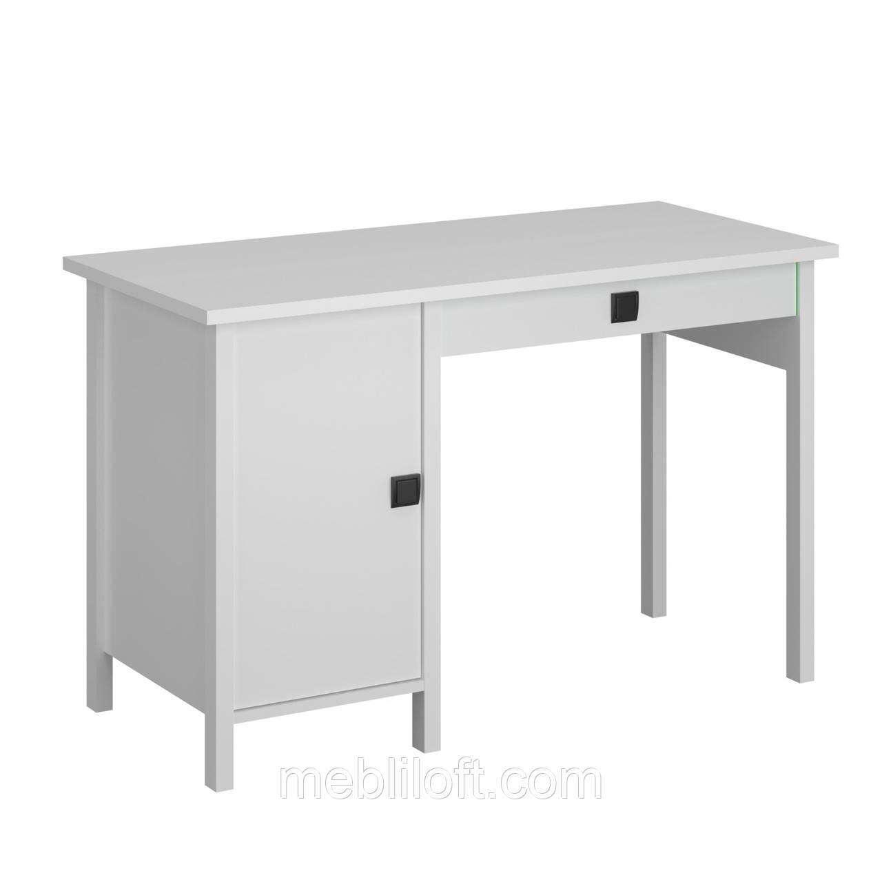 Стол письменный 1D1S_120 Марокко белый