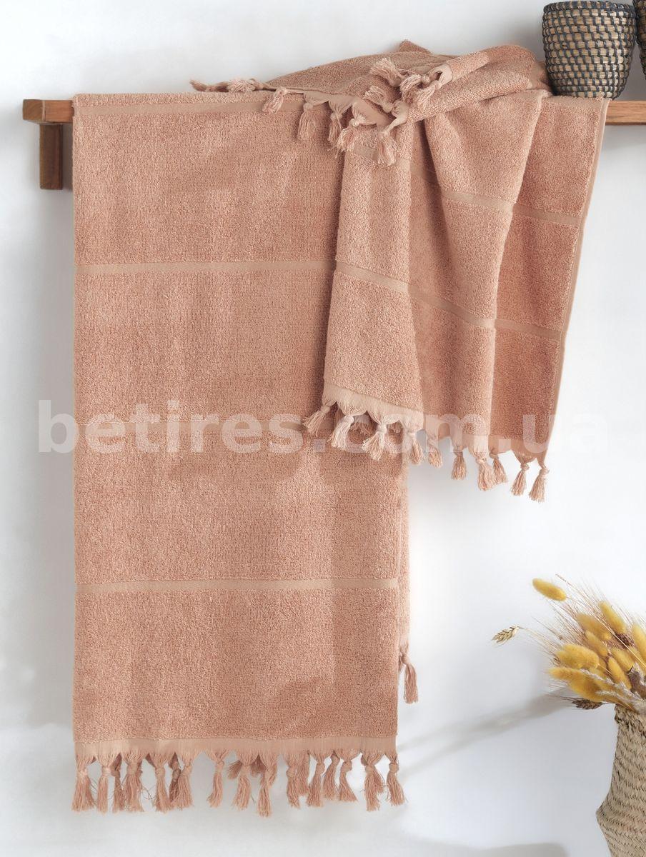 Набор полотенец LIMASSO SACAKLI TОAST 2шт. (70х140,50х90) оранжевый