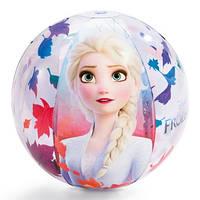 Мяч надувной пляжный Disney Frozen II, винил, 51см, от 3 лет, Intex (Интекс) 58021, в коробке