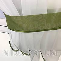 Тюль с ламбрекеном для спальни зала кухни комнаты, готовый красивый тюль для комнаты детской гостинной,, фото 6