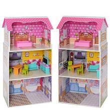 Дерев'яний ляльковий будиночок MD 1549