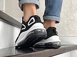 Повседневные мужские кроссовки,Max,черно белые, фото 4