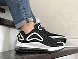 Повседневные мужские кроссовки,Max,черно белые, фото 5