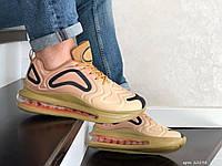 Повседневные мужские кроссовки,Max,бежевые,текстильные, фото 1