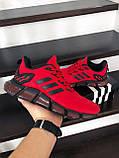 Чоловічі весняні кросівки Adidas,червоні, фото 2