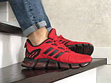 Чоловічі весняні кросівки Adidas,червоні, фото 3