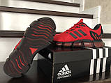Чоловічі весняні кросівки Adidas,червоні, фото 5