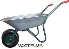 ⭐ Тачка садовая FORTE WB6407A одноколесная (вода/песок 65/142 л, 120 кг)