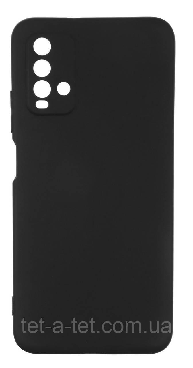 Чохол силіконовий Armorstandart Matte Slim Fit для Xiaomi Redmi 9T Black