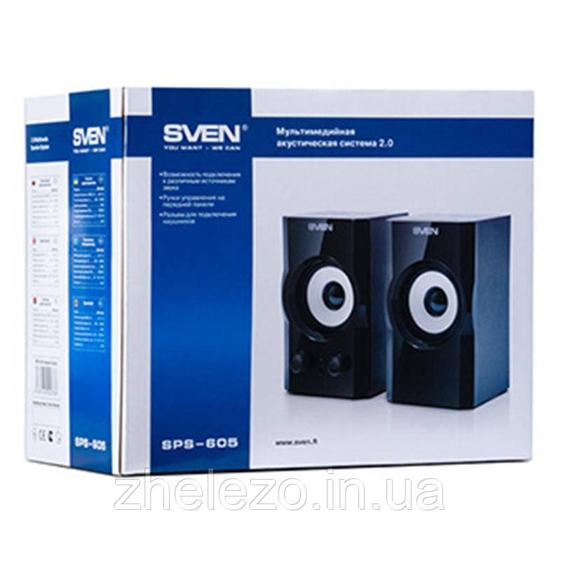 Акустическая система Sven SPS-605 Black