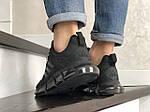 Мужские кроссовки Adidas (черные) 10312 спортивные демисезонные кроссы, фото 5