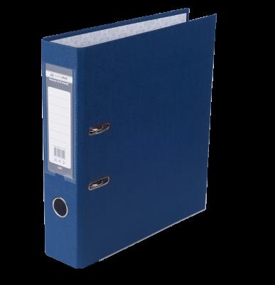 Папка реєстратор LUX одностороння JOBMAX A4, 70 мм, темно-синя