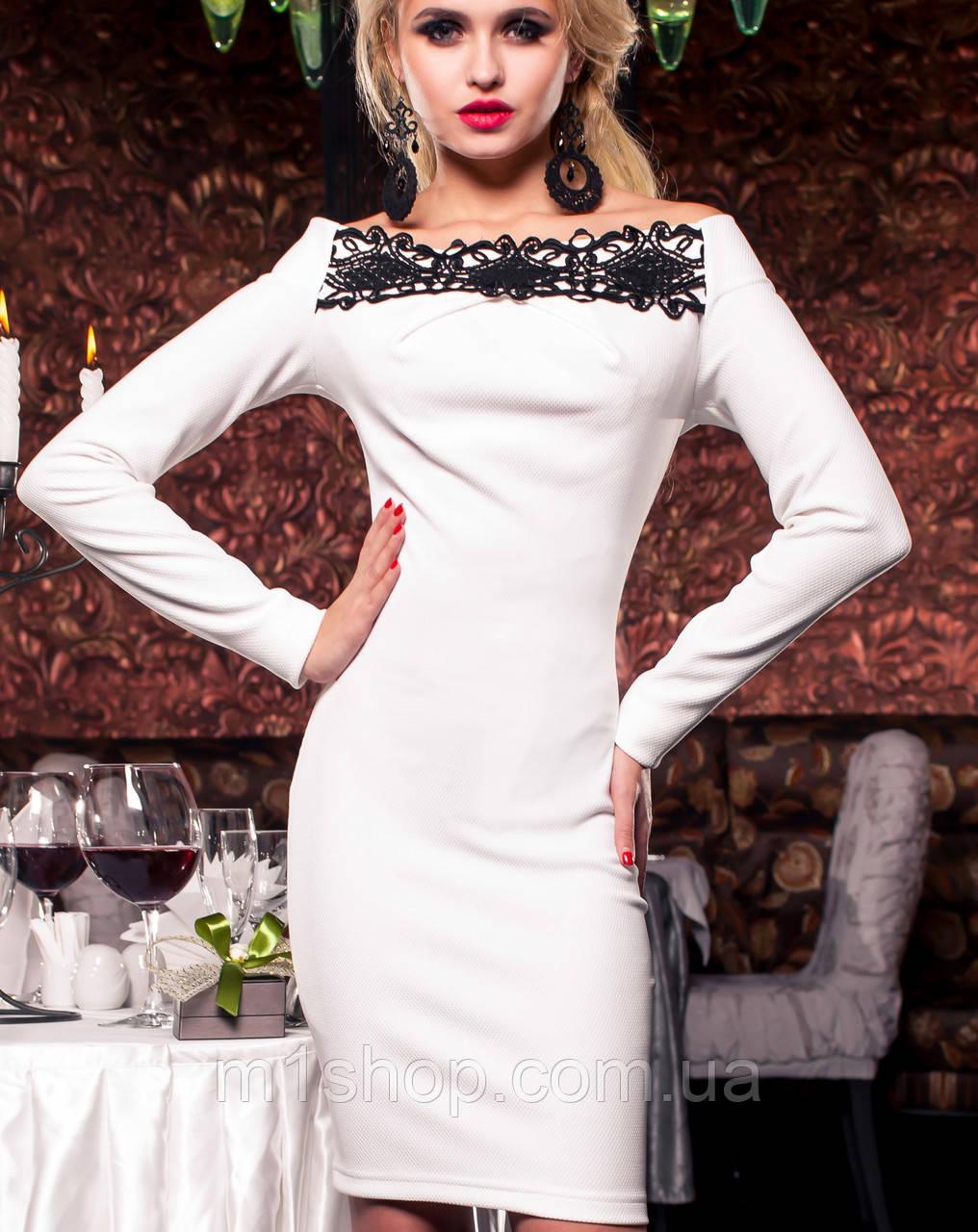 Платье с кружевом | Ирен jd