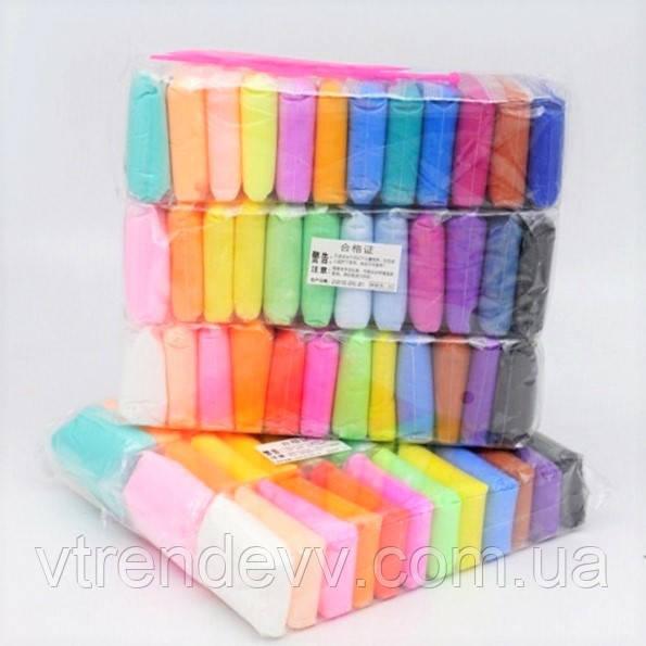 Полимерный пластилин 36 в 1 набор для творчества 12 цветов BK-036