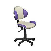 Детское кресло STR FW1 grey-violet