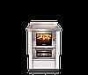 Піч камін з духовкою й плитою Rizzoli M 60, фото 2