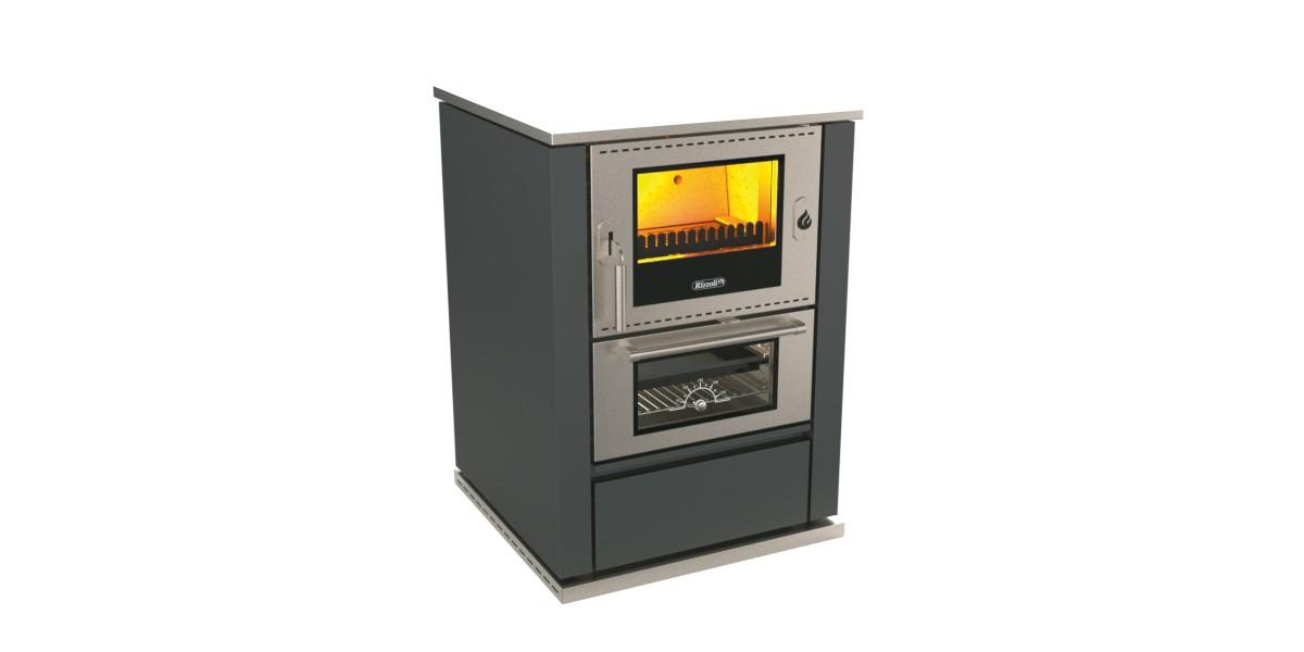 Печь камин с духовкой и плитой Rizzoli M 60