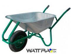 ⭐ Тачка строительнаяForte WB9618 (0,17 куб.м /200 кг) одноколесная с усиленной рамой (37968)