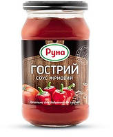 """Соус Гострий фірмовий """"Руна"""" 485г ТВ (1/12)"""