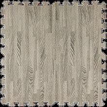 Модульное напольное покрытие 600*600*10 мм серое дерево