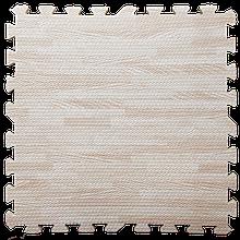 Модульное напольное покрытие 600*600*10 мм светлое дерево