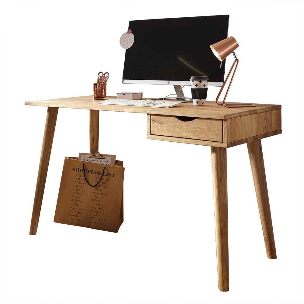 Стол письменный компьютерный из дерева 135