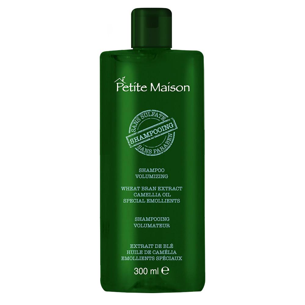 Безсульфатный шампунь для объема волос с маслом камелии Petite Maison, 300 мл