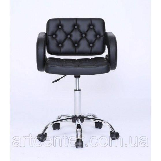 Косметическое кресло Jessy, на колесах, регулируется по высоте, кожзам