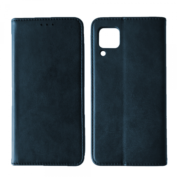 Чехол-книжка Black TPU Magnet for Samsung A12 (A125) Blue