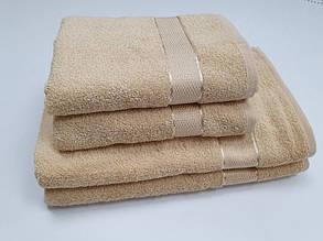 Полотенце махровое, Крем (Руки 40/70см)