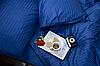 """Семейное постельное бельё """"Элит"""" (14636) цветной страйп-сатин люкс"""