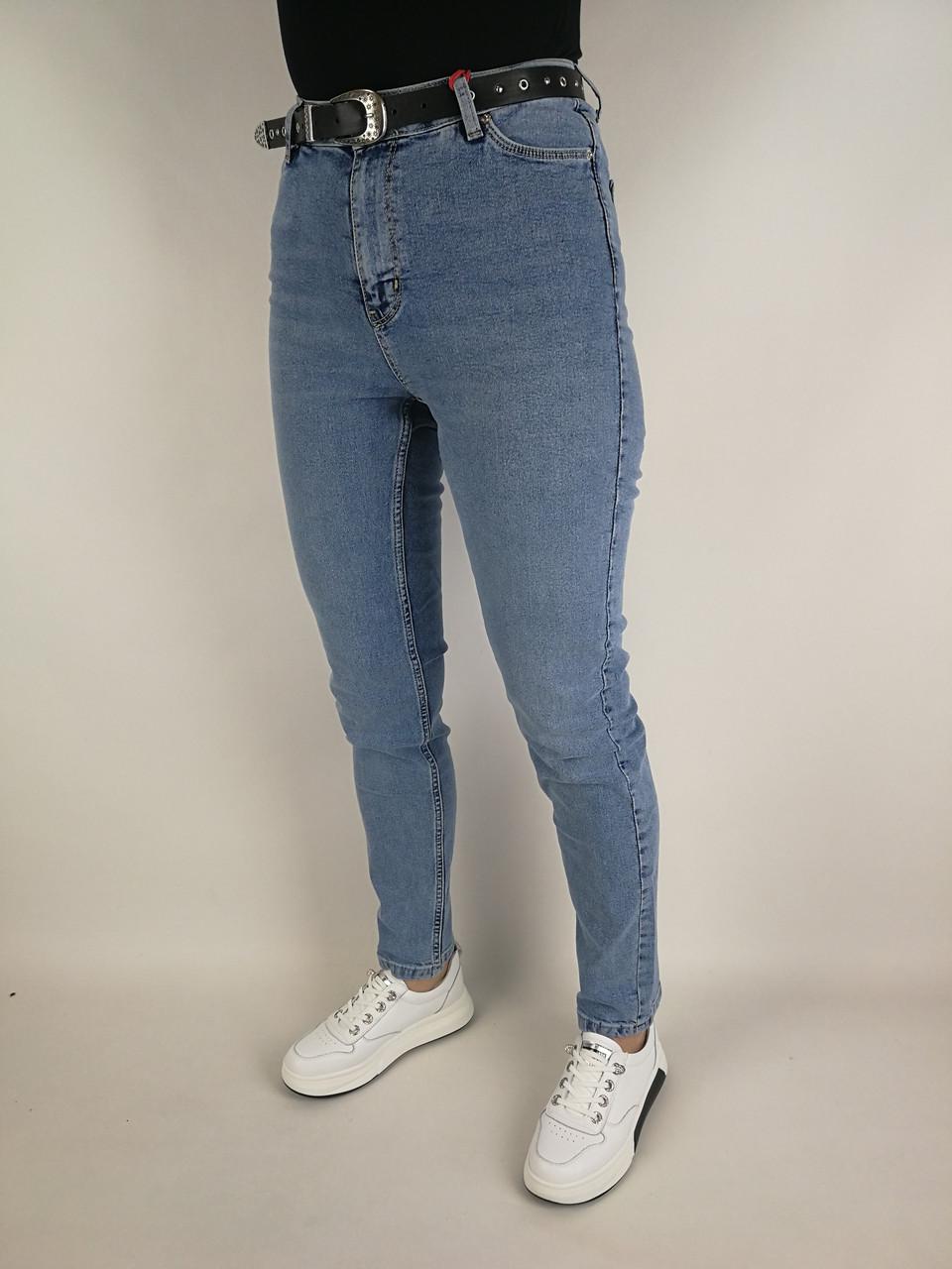 Жіночі джинси висока посадка